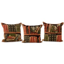 Library Tapestry Pillows