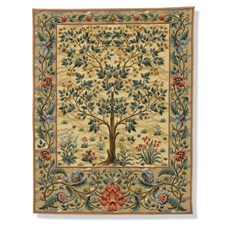Tree of Life Light Tapestry Hanging