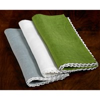 Crotchet Lace Edge Napkins