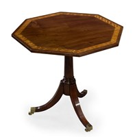 Walnut Tilt-Top Table