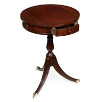 Mahogany & Rosewood Drum Table