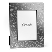 Christofle Graffiti Silverplated Picture Frame Collection
