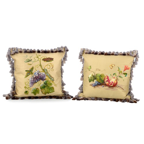 Butterfly & Grapes Pillows