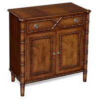 Mahogany Two-Door Cabinet