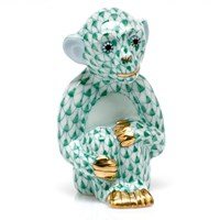 Herend Little Monkey Figurines