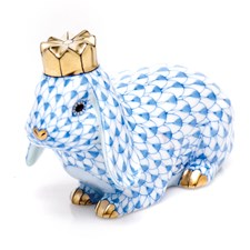 Herend Royal Bunny Figurines