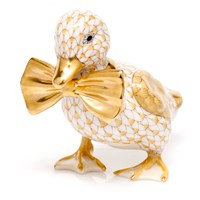 Herend Dashing Duckling Figurines