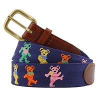 Dancing Bears Petitpoint Belt