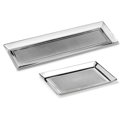 Christofle Madison Silverplated Trays