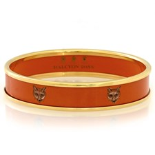 Halcyon Days Fox on Orange Bangles