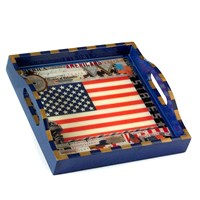 American Flag Tray, Small