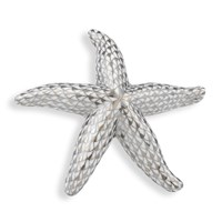 Herend Starfish Platinum Figurine