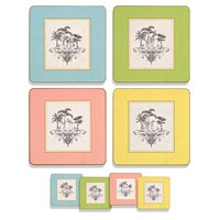 Harlequin Square Coasters & Placemats