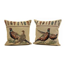 Pheasant Tapestry Pillows