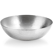 Silverplated Hand Hammered Fruit Bowl
