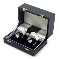 Sterling Silver Napkin Rings, Set of 2