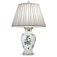 Herend Queen Victoria Lamp