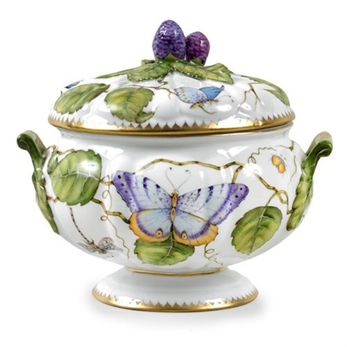 Anna Weatherley Butterfly Covered Dish