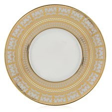 Haviland Tiara White & Gold Charger / Service Plate