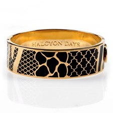 Halcyon Days Wildlife Hinged Bangles