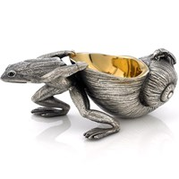 Frog & Snail Salt Cellar with Spoon
