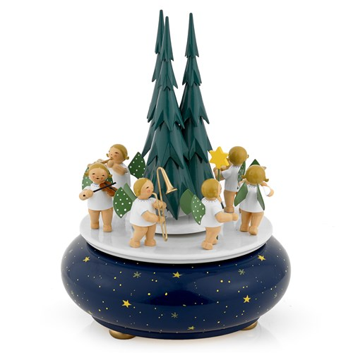 Angel's Procession Music Box