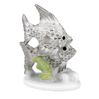 Herend Fish Figurines, Platinum