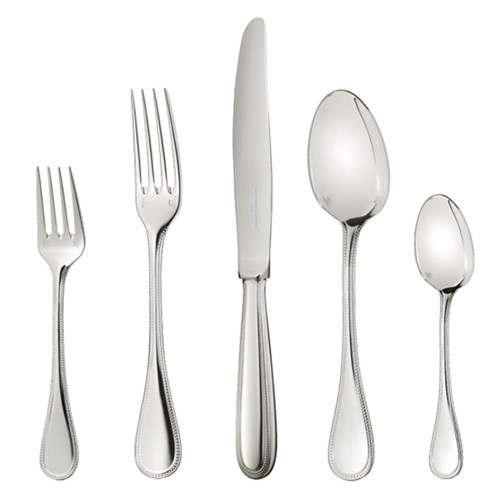 Christofle Perles Sterling Silver Flatware