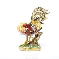 Herend Reserve Collection Rowdy Rooster Figurine