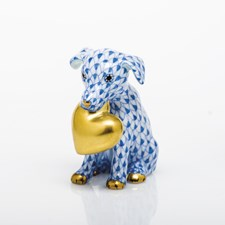 Herend Puppy Love Figurines