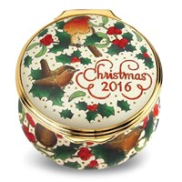 Halcyon Days Christmas 2016 Enamel Box