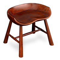 Mahogany Milking Stool