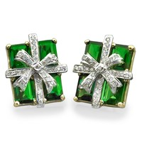 Chrome Diopside Gift Package Earrings