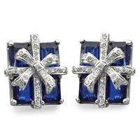 Royal Blue Kyanite Gift Package Earrings