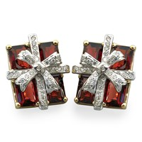 Garnet Gift Package Earrings