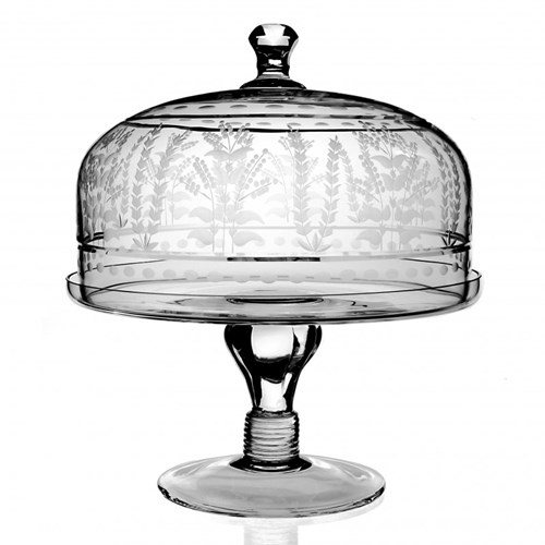 Portia  Cake Stand With Dome