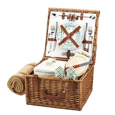 Ludlow Basket for Two with Blanket