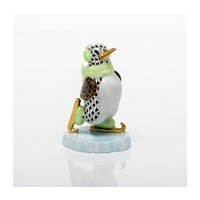 Herend Ice Skating Penguin Figurines