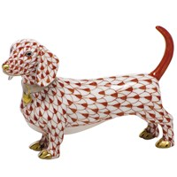 Herend Dachshund Figurines