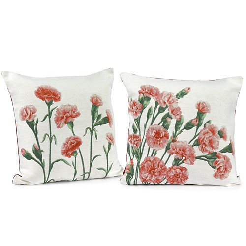 Carnation Pillows