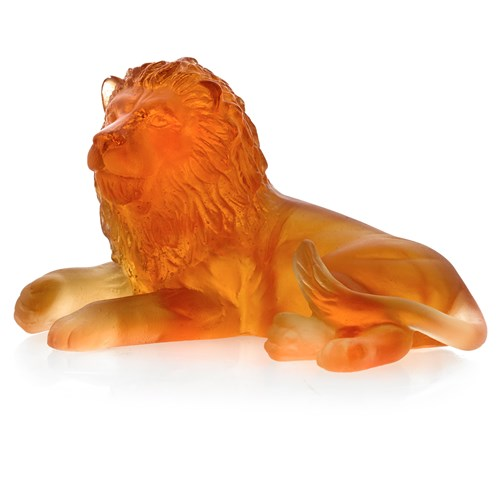 Daum Small Lion Figurine
