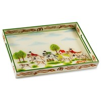 The Chase Lacquered Tray