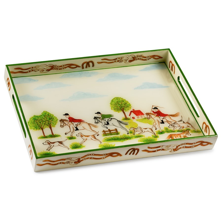 Easy Home Decorating With Trays: Painted, Wooden & Decoupage
