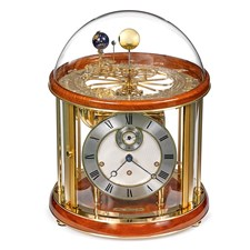Tellurium I Clock, Light Cherry Finish