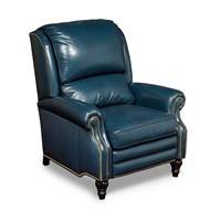 Powell Recliner, Ocean Blue