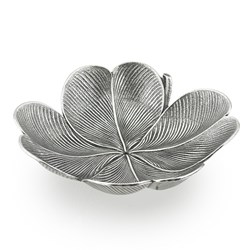 Buccellati Sterling Silver Clover Leaf Dishes