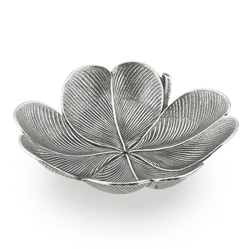 Buccellati Clover Sterling Silver Leaf Dishes