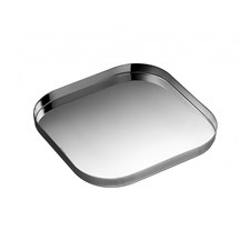 Christofle Silverplated Square Tray, K+T Collection