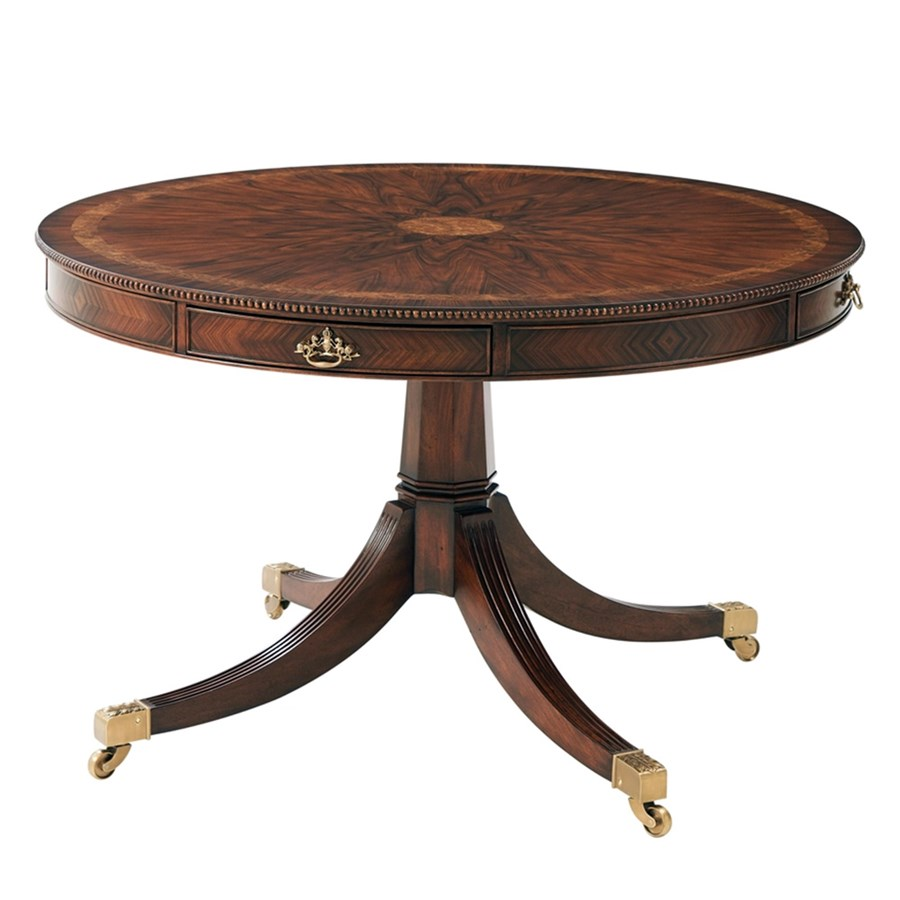 Rosewood Circular Dining Table Dining Tables