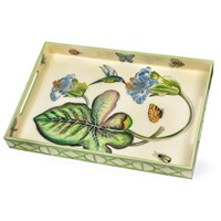 Hummingbird Lacquered Tray